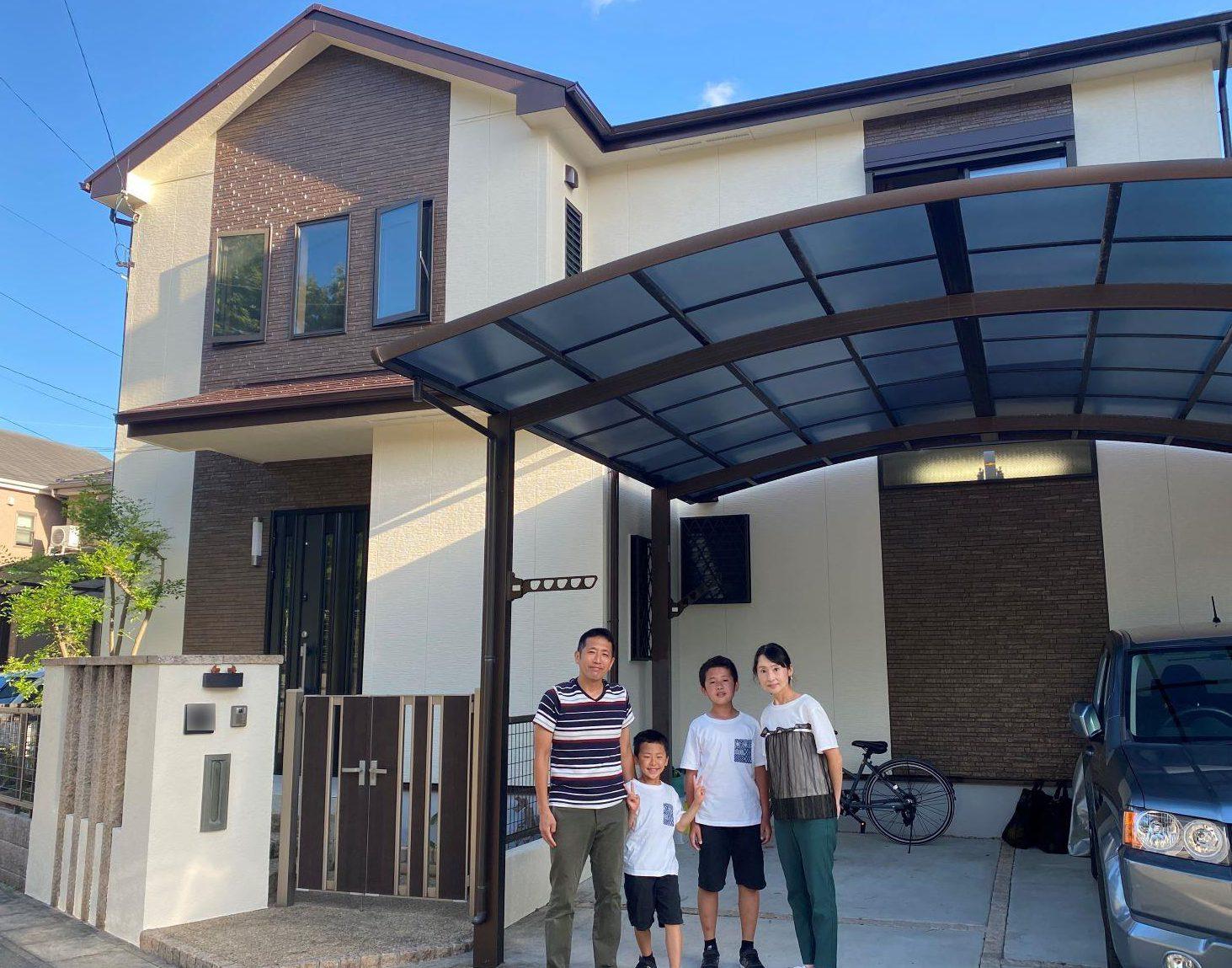 守山区K様邸 屋根外壁塗装工事