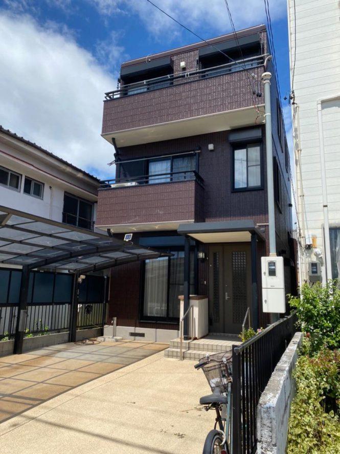 【名古屋市北区】 K様邸 外壁塗装・屋根塗装工事