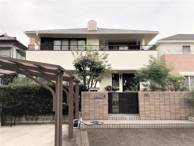 【名古屋市守山区】O様邸 外壁塗装・屋根塗装工事