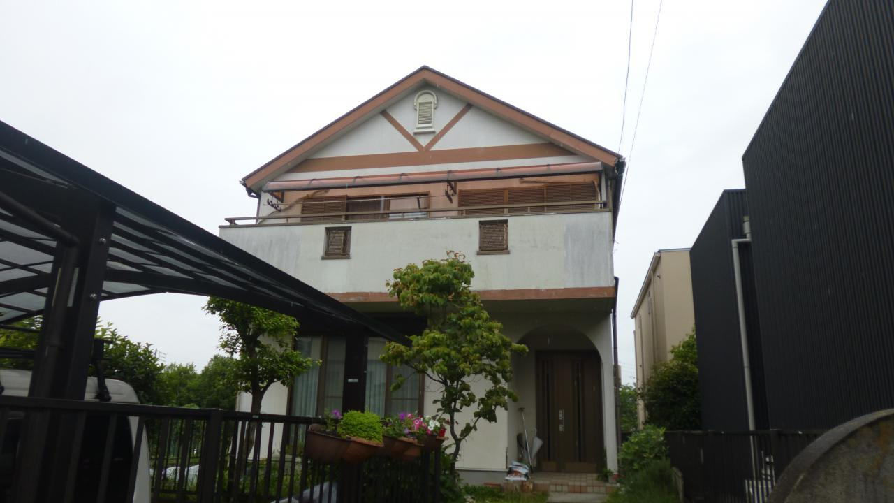 【長久手市】 Y様邸 外壁塗装・屋根塗装工事